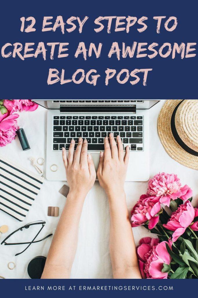 12 easy steps awesome blog post pinterest